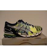 Asics gel kinsei 5 running shoes flash yellow/blue size 7 us men new wit... - $138.55