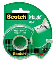 Scotch Magic Tape with Dispenser, 3/4 x 650 Inches 122 - $5.08