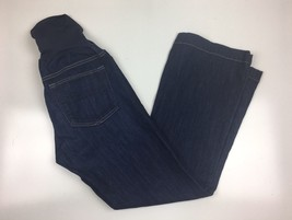 GAP Maternity Long and Lean Jeans Size 27/4a  Inseam 29 Inch Full panel ... - $9.99