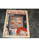 Cross Stitch & Country Craft Magazine January February 1993 Folk Art Heart - $2.99