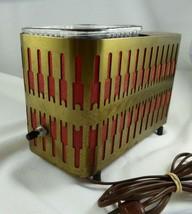 Vintage Retro Warming Dish Light~ ART DECO~ VICTOR~ WORKS!  - $9.89