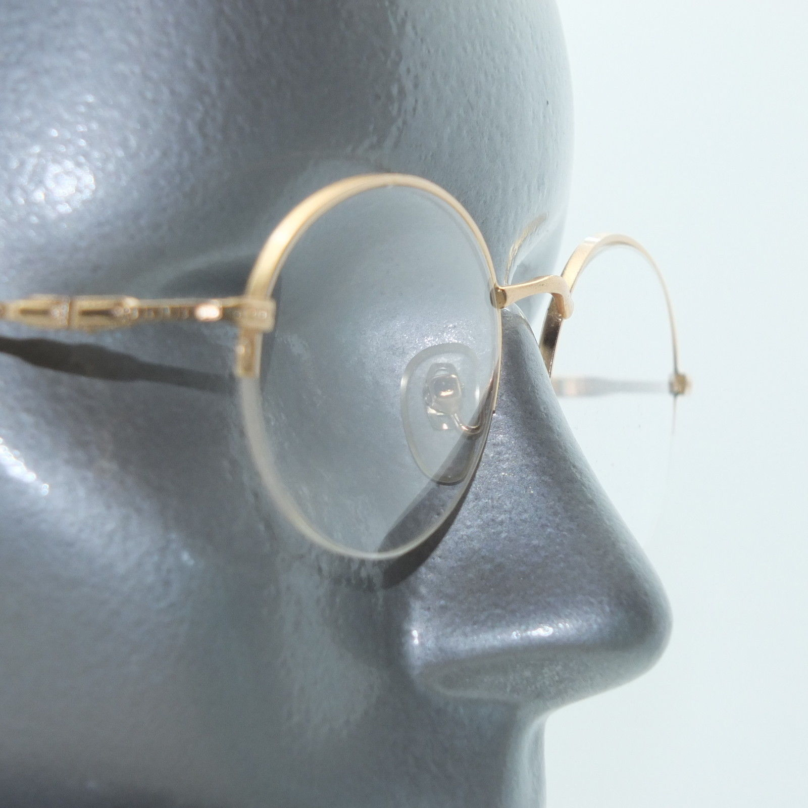 Primary image for Reading Glasses +1.00 Lens Delicate Women's Style Top Frame Matte Brushed Gold
