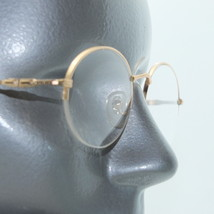 Reading Glasses +1.00 Lens Delicate Women's Style Top Frame Matte Brushed Gold - $14.97