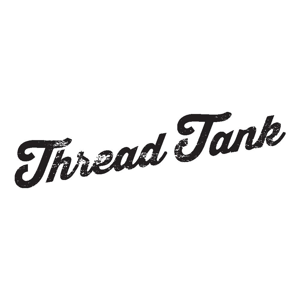 Thread Tank Bull Terrier Dog Silhouette Women's Sleeveless Muscle Tank Top Tee C