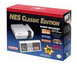 Nintendo NES Classic Edition Mini Video Game Console Authentic June 2018... - $109.99