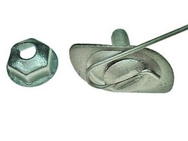 "Ford Lincoln Mercury moulding clips 3/4"" wide mldg - $13.00"