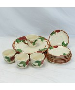 Franciscan Apple Plates Saucers Cups Lot of 16 USA - $97.99
