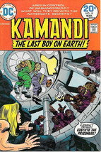 Kamandi Last Boy On Earth Comic Book #15, DC Comics 1974 VERY FINE- - $13.54