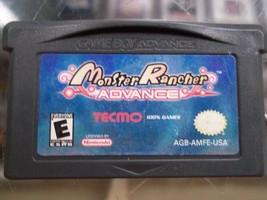 Monster Rancher Advance (Nintendo Game Boy Advance, 2001) - $39.99