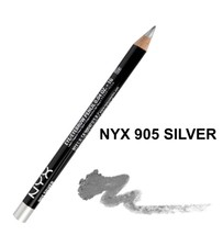 NYX 905 SILVER Eyeliner Eyebrow Pencil NEW - $3.65