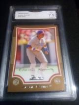 2009 Bowman Aramis Ramirez GMA Graded 7.5 NM+ baseball card number 163 Gold - $9.99