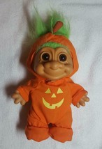 "Vintage 1963 Halloween Witch Troll Doll 9"" Tall - Russ - Excellent Condi... - $22.00"