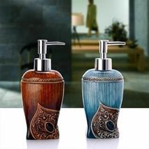 Resin Liquid Soap Dispenser Bathroom Kitchen Bath Lotion Shampoo Pump Bo... - $28.24