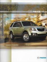 2008 Mazda TRIBUTE sales brochure catalog 1st Edition 08 US i s Escape - $6.00