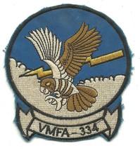 USMC Marine Fighter Attack Squadron 334 Vintage Vietnam Patch - $11.87
