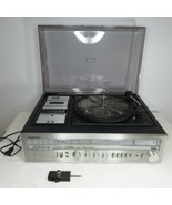 Vintage Soundesign Stereo Receiver 8 Track Cassette Reorder Turntable Re... - $247.45
