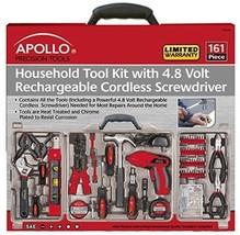 Apollo Tools DT0738 Household Tool Kit, 161-Piece - $1.737,46 MXN