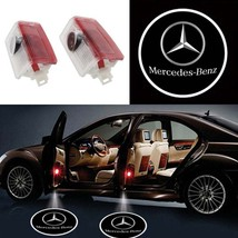 2X Pcs LED Logo Door Courtesy Light Ghost Shadow Laser Projector for Mercedes-Be - $28.00