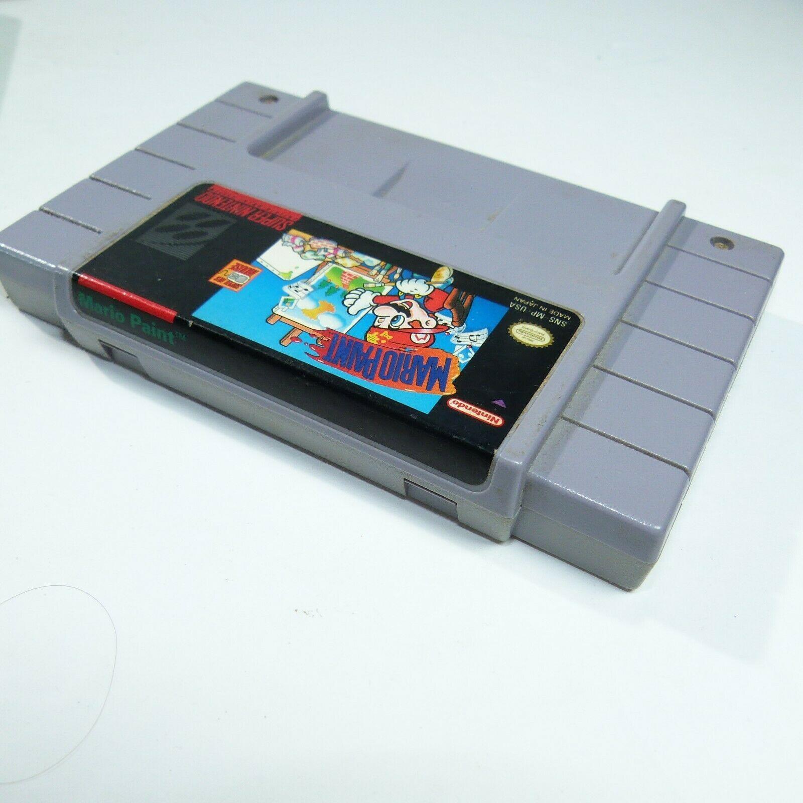 Mario Paint (Super Nintendo Entertainment System, 1992) image 2