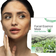 Make Fresh Skin With Green Tea and Aloe Extract Facial Essence Mask - $7.95