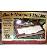Clubhouse Collection Book NotePad Holder NEW in Box! - $9.00