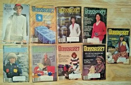 The Workbasket Magazine/More - 1981-1982 -  Lot of 9 Total! Vintage!  FREE SHIP! - $15.94