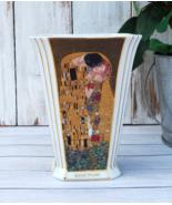 KLIMT Kiss Vase, Gustav Klimt The Kiss Rare Vase Germany Artis Orbis GOEBEL - $79.00