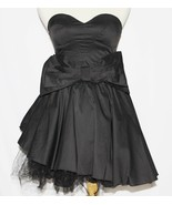 S Strapless Lolita Gothic Goth Emo Rockabilly Burlesque Crinoline Cospla... - $27.71