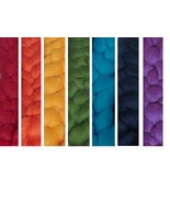 Rainbow Merino Top Collection: Spin Your Own Rainbow or Self-Striping Yarn! - $18.99+