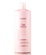 Wella INVIGO Recharge Color Refreshing Shampoo for Cool Blondes 1Liter/3... - $29.95