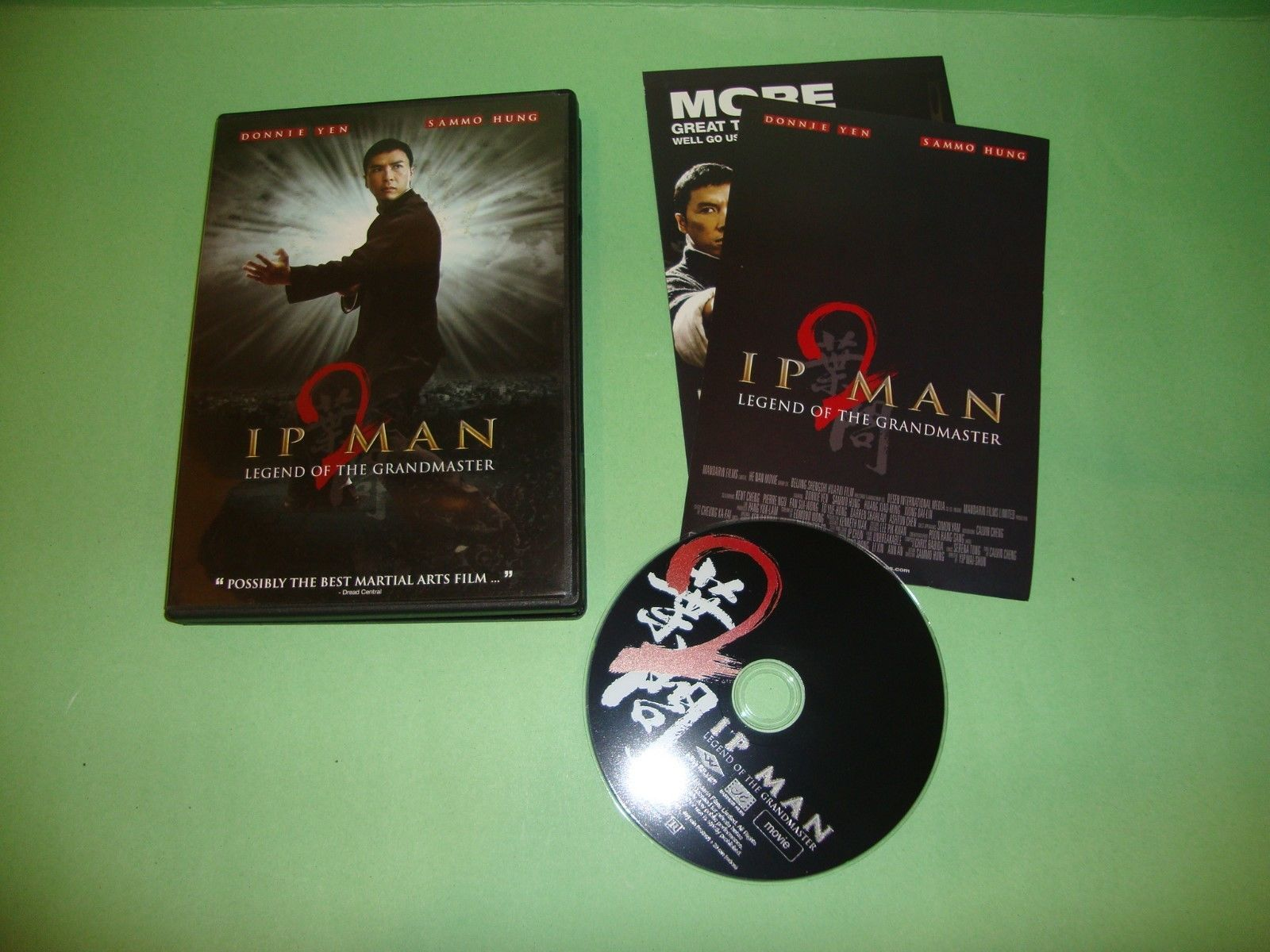 Ip Man 2: Legend of the Grandmaster (DVD, 2011)