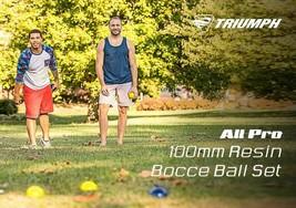 TRIUMPH ALL PRO 100MM BOCCE SET INCLUDES EIGHT BOCCE BALLS - $79.66