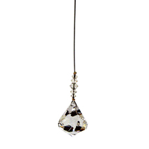 Clear Crystal 30mm Bell Pendulum image 1
