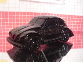 Classic Volkswagen Beetle Glass Cologne Decanter by Avon - Empty - $6.15