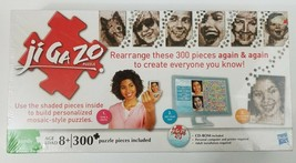 NEW Hasbro Sealed incl CD-ROM Ji Ga Zo Puzzle Family Mosaic-Style Puzzle Factory - $23.99