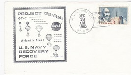 USS WALDRON PROJECT GEMINI GT-7 NAVY RECOVERY FORCE DECEMBER 18 1965 ATL... - $1.98