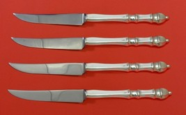 Carpenter Hall by Towle Sterling Silver Steak Knife Set 4pc HHWS Custom ... - $329.00