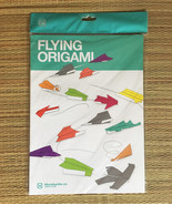 FLYING ORIGAMI by Worldwide Co • 30 Sheets Paper + Instruction Booklet - $9.85