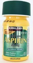 """""""ORIGINAL"""" Kirkland Signature Aspirin LOW DOSE 81mg Enteric Coated, 365 ... - $9.65"""