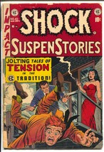 Shock SuspenStories #10 1953-EC-Wally Wood-Reed Crandall-vampire-FR/G - $41.23