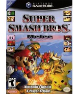 Super Smash Bros. Melee Gamecube Great Condition Fast Shipping - $89.93