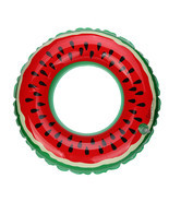 Hot Swimming Pool Beach Inflatable Watermelon Swim Ring Adult Fruit Swim... - $448,77 MXN