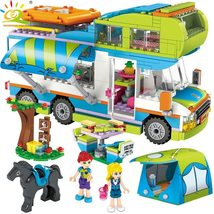 HUIQIBAO 534pcs City Outing Camper Bus Car Girls Figures - $45.00