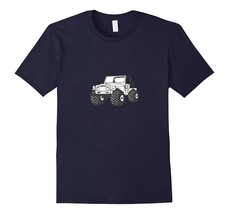 Offroad Truck With Mud Tires Jeep Riding Driving 4X4 T-Shirt Men - $17.95+