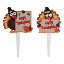 Happy Thanksgiving Turkeys DecoPics® - $2.16+