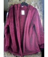 Terrycloth Warm Women's  Cold Weather Wrap Cardigan Jacket Outwear Coat ... - $16.99