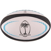 Gilbert Fiji Replica Rugby Ball Size 5 image 1