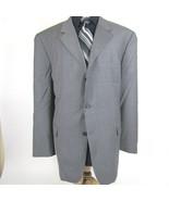 Alfani Men's size 48R Classic Fit Gray Crosshatch Wool Blazer Sport Coat... - $28.88
