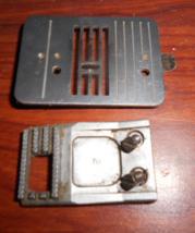 Brother VX-809 Zig Zag Needle Plate #130967001 & Feed Dog #129373051 Works - $15.00