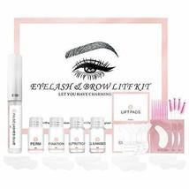 DAGEDA Eyebrow And Lash Lift Kit, Complete Brow Eyelash Lift Perming Kit... - $34.51